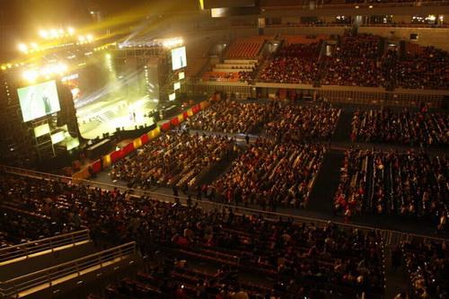银丰 唐郡项目强力助力2014中国 济南汽车音乐节高清图片