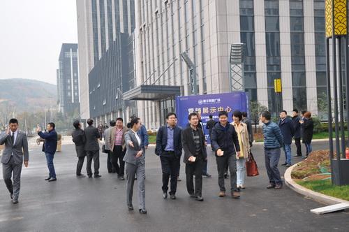 青岛市崂山区中韩街道办事处及山东头社区领导莅临